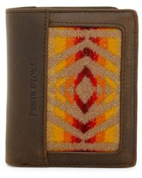 Pendleton | Leather Trimmed Bifold Wallet | Lyst
