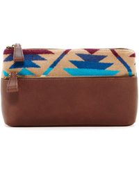 Pendleton - Leather Trimmed Zip Case - Lyst