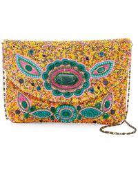 G-Lish Beaded & Sequined Mini Bag - Multicolor