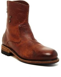 Blackstone - Back Zip Leather Boot - Lyst