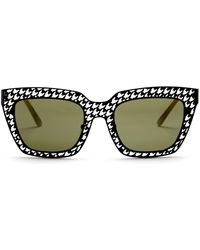 Gx By Gwen Stefani - Women's Full Rim Rectangle Sunglasses - Lyst