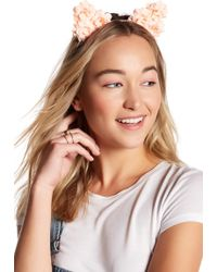 Noir Jewelry - Floral Cat Ear Handband - Lyst