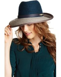 Helen Kaminski - Harlow Wool Blend Hat - Lyst