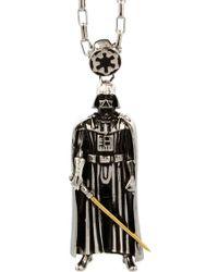 Han Cholo - Darth Vader Pendant Necklace - Lyst