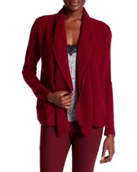 In Cashmere - Stitched Shawl Lapel Cashmere Duster - Lyst