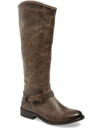 Hinge - 'dakotah' Knee High Riding Boot (women) - Lyst