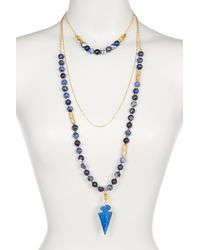 Lucky Star Jewels - Cape Town Jasper Necklace - Lyst