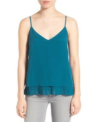 Chelsea28 Nordstrom - Double Layer Tank - Lyst