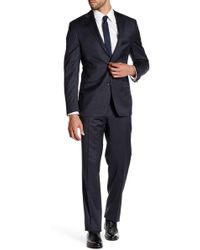 Spurr By Simon Spurr - Narrow Plaid Modern-regular Fit Suit - Lyst