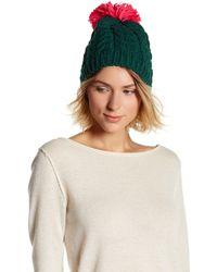 Cara - Pompom Jumper Hat - Lyst
