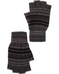 Ben Sherman - Striped Fingerless Gloves - Lyst