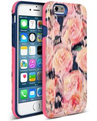 Nanette Lepore Pink Rose Iphone 6/6s 2-piece Case