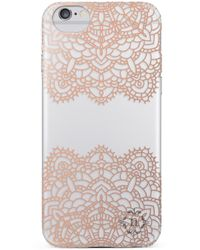 Nanette Lepore - Rose Gold Lace Dot Iphone 6/6s Case - Lyst