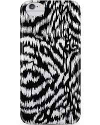 Nanette Lepore - Black Print Iphone 6/6s Frosted Case - Lyst