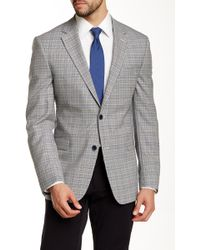 Ike Behar - Pandora Houndstooth Check Two Button Notch Lapel Suit Separates Jacket - Lyst