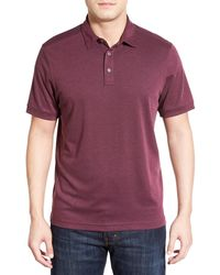 John W. Nordstrom - Regular Fit Pima Cotton Blend Polo - Lyst