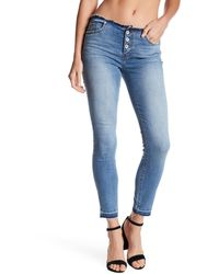 Band Of Gypsies - Ava Skinny Ankle Jean - Lyst