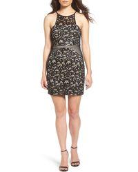 Dear Moon - Lace Body-con Dress - Lyst