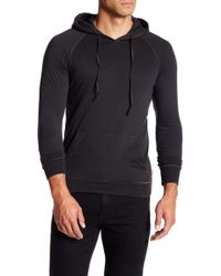 Jeremiah - Blaine Double Layer Jersey Hoodie - Lyst