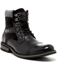 Joe's Jeans - Xtra Leather Lace-Up Boot - Lyst