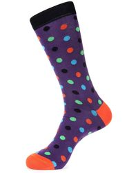 Jared Lang - Medium Polka Dots Sock - Lyst