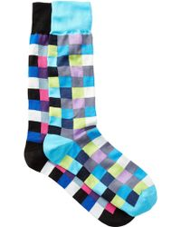 Jared Lang - Boxes Crew Socks - Pack Of 2 - Lyst