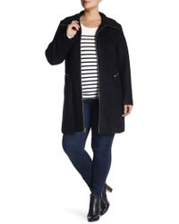 Jessica Simpson - Zip Front Coat (plus Size) - Lyst