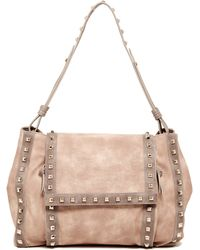 Big Buddha - Jssheena Studded Shoulder Bag - Lyst