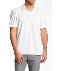 Agave - Supima Cotton Jersey Polo - Lyst