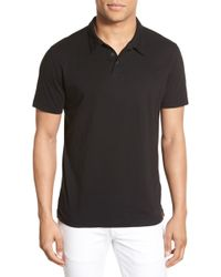 Agave - 'collawash' Pima Cotton Jersey Polo - Lyst