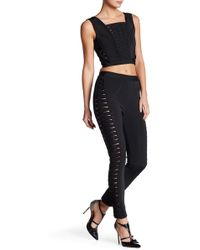 Wow Couture - Crop Tank & Pant Set - Lyst