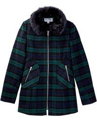 CoffeeShop - Faux Fur Collar Coat (big Girls) - Lyst