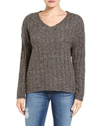 Kut From The Kloth | Akiko Rib Knit Top | Lyst