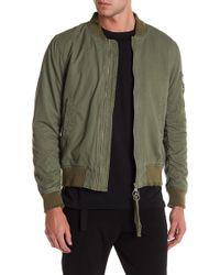 KUWALLA - Garment-dyed Bomber Jacket - Lyst