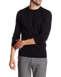 Weekend Offender - Borle Long Sleeve Merino Wool Sweater - Lyst
