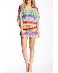 Luli Fama - Groovy Baby Beach Cover-up Dress - Lyst