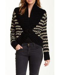 Lavand - Shawl Collar Chunky Knit Sweater - Lyst