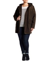 Lucky Brand - Quilted Anorak Coat (plus Size) - Lyst