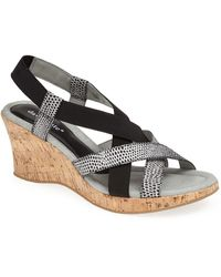 David Tate - 'lexie' Wedge Sandal - Lyst