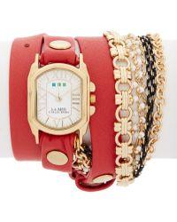 La Mer Collections - Women's Pollara Chain Watch - Lyst