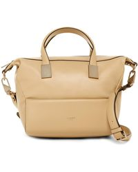 Luana Italy - Circe Mini Leather Satchel - Lyst