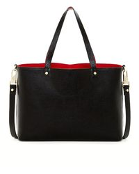 Luana Italy - Carlyle Reverisble Leather Tote - Lyst