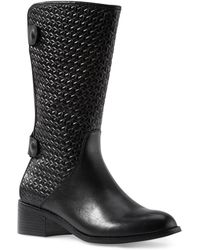 Liebeskind Berlin - Lasercut Mid-calf Riding Boot - Lyst