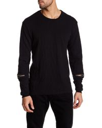 Cohesive & Co. - Avenue Zip Sleeve Sweater - Lyst