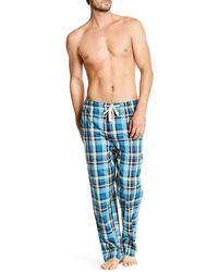Lucky Brand - Plaid Woven Lounge Pant - Lyst