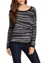 Olive & Oak - Allover Print Pullover Sweater - Lyst