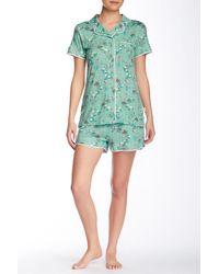 Munki Munki - Leap Froggin Short Sleeve Short Pyjama Set - Lyst