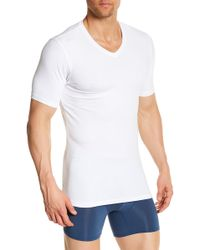 Naked - Essential V-neck Cotton Stretch Tee - 2-pack - Lyst
