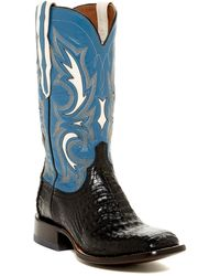 Lucchese - Genuine Caiman Boot- Wide Width Available - Lyst