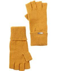 Steve Madden - Boyfriend Half Finger Gloves - Lyst